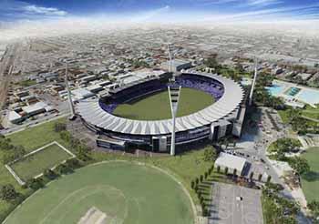 Simonds Stadium Aerial