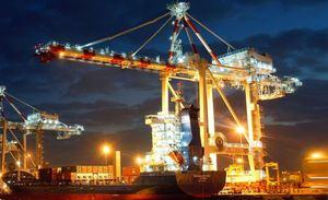 Port of Melbourne.
